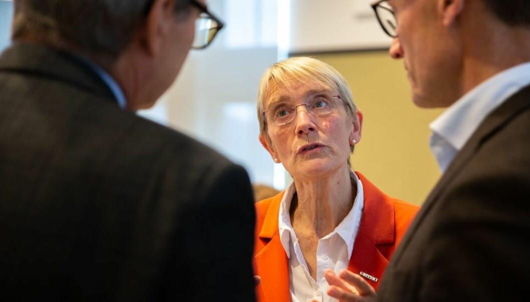 Anne borg forteller at hennes inntrykk er at instituttlederne trives i rollen sin. - De utviser et stort og bredt engasjement, og legger ned et omfattende arbeid, sier hun.