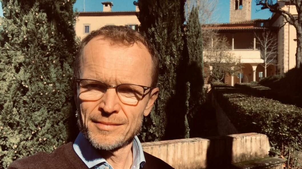 Tilværelsen på forskningstermin i Firenze går stort sett som vanlig, rapporterer Kristian Steinnes.