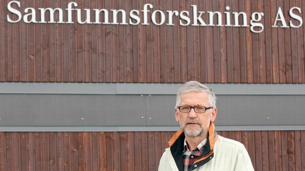 - Også vi ved universitetet må ha lov til å si tøvete ting, minner samfunnsforsker, professor emeritus Per Morten Schiefloe, om.