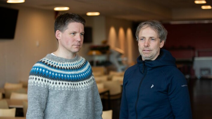 Ole Petter Vestheim og Tore Kristian Aune