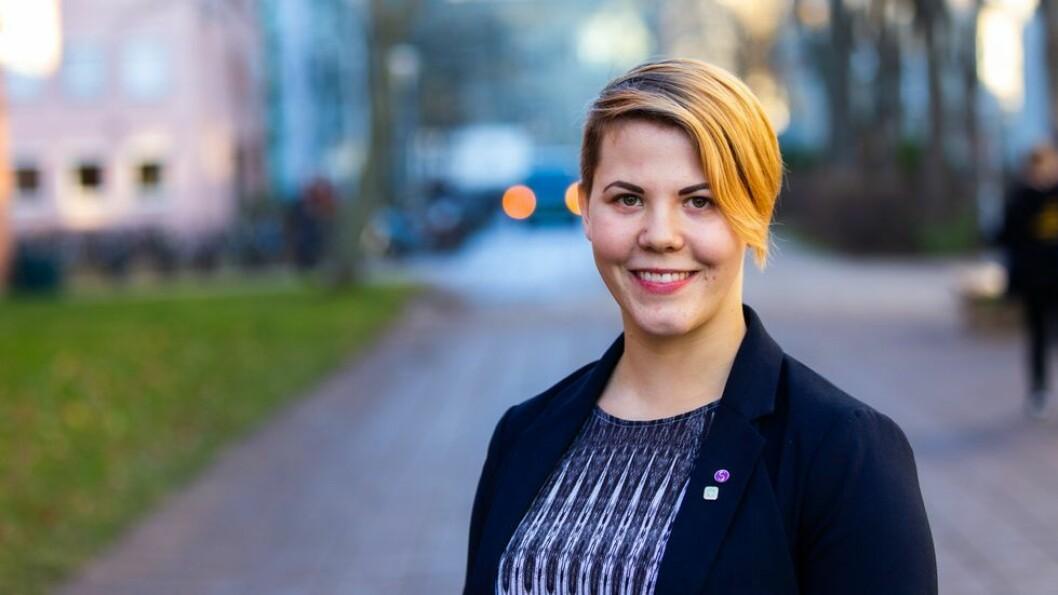 Vi er her for deg, og ingenting er for smått eller for stort, skriv leiar av Studenttinget NTNU, Cecilie Bjørnsdotter Raustein.