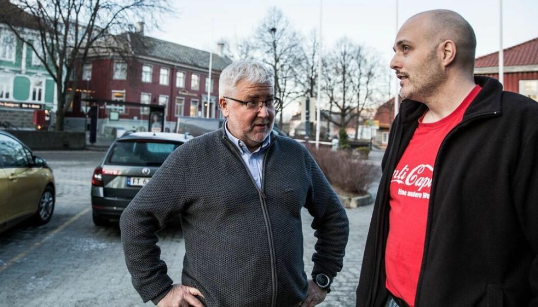 - Det er mulig å si nei, også for ansatte i særskilt uavhengig stilling, hevder Sturla Søpstad (fra venstre) og Ronny Kjelsberg.