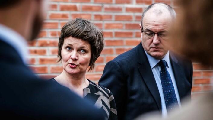 Anne Kristine Børresen og Gunnar Bovim.