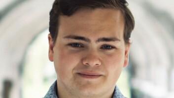 Andreas Trohjell, studentleder, Universitetet i Bergen.