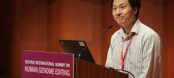 Kinesisk forsker dømt til fengsel for å ha genredigert baby