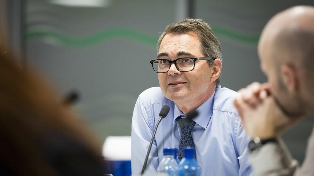 Fornøyd. Svein Richard Brandtzæg konstaterer med stor tilfredshet full oppslutning i NTNU-styret om valget av Anne Borg som ny, fast tilsatt rektor.