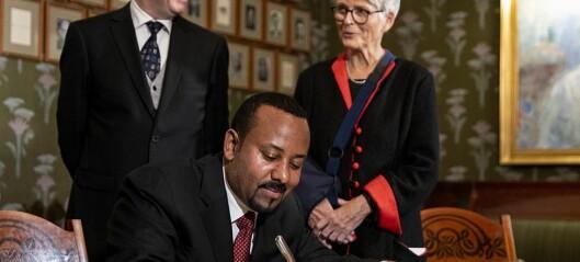- Det er en kald fred i Etiopia