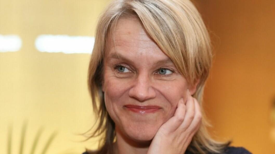 Nina Sandberg sier at Jonas Gahr Støre har vært tydelig på at ABE-reformen skal kuttes, og at hele partiet støtter ham i dette.