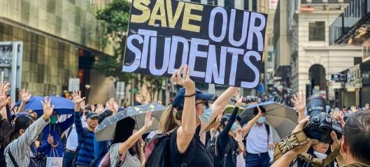 NTNU ber studenter i Hongkong reise hjem