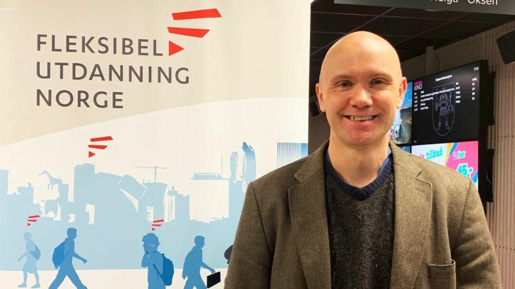 Halvdan Haugsbakken er ansatt som postdoktor ved NTNU og er prosjektleder for NTNU MOOC.