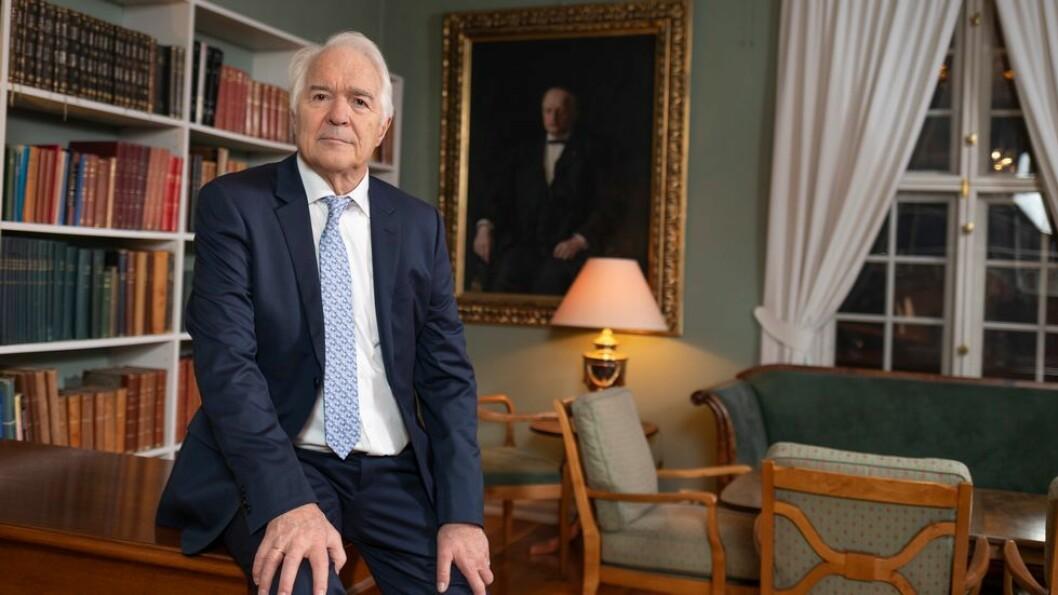 Forskeren og gründeren Steinar Sælid mottok æresprisen torsdag.