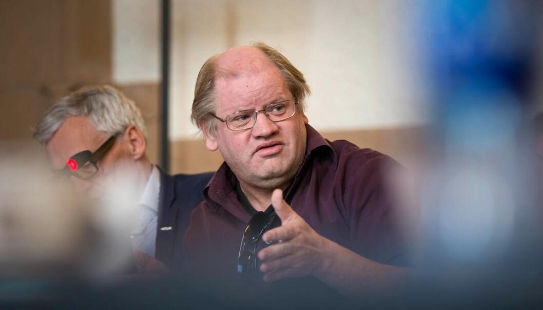 Illustrasjonsfoto tatt ved et tidligere, fysisk styremøte: Tim Torvatn kunne ikke stille seg bak tilrådingen som lå på bordet uten et tillegg.
