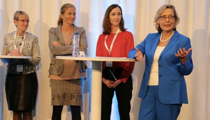Anne Borg, Alexandra Bech Gjørv, Elisabeth M Støle og Signe Ratso.