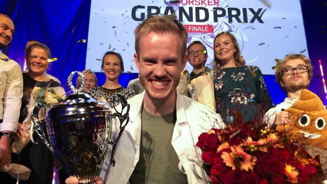 Årets vinner av Forsker Grand Prix er psykolog ved Institutt for psykisk helse ved NTNU.