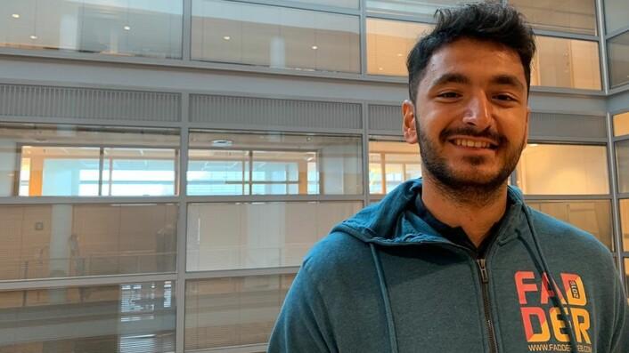 Yusuf Harmankaya vil bidra til at nye studenter ikke dropper ut av studiene underveis.
