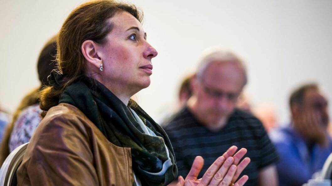 - Jeg tror ingen vet vi er om 5 år når det gjelder utviklingen av KI, sier Silvija Seres.