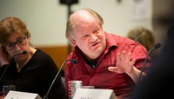 Tim Torvatn er studieleder ved IØT, her fotografert under et styremøte ved NTNU.