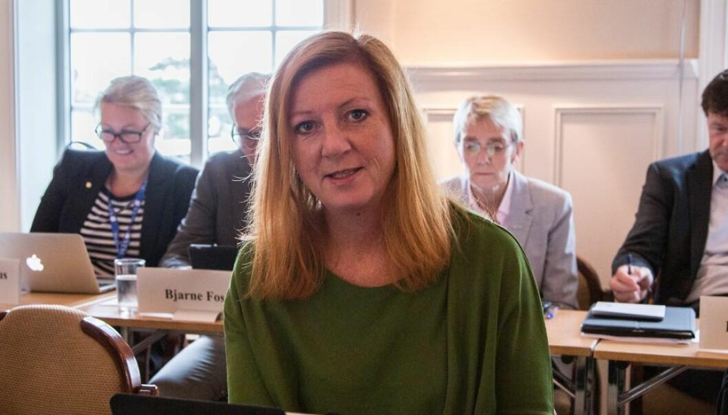 Med faggruppelederen innførte man en funksjon av en nokså diffus karakter som er egnet til å skape forvirring og usikkerhet, mener Kjersti Møller. Hun er medlem av NTNUs styre.
