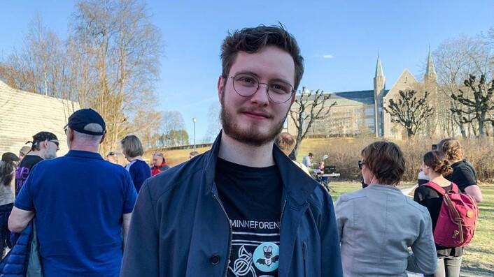 Samuel Billaud Feragen er lokallagsleder i Fortidsminneforeningen.