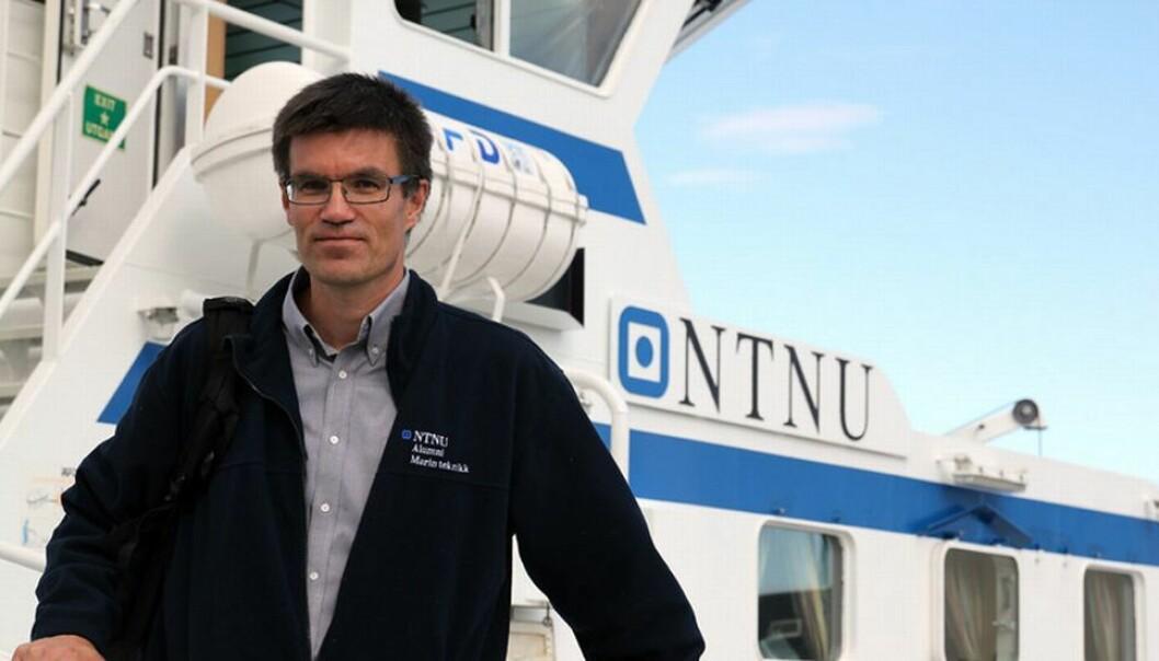 Professor Asgeir Johan Sørensen er prosjektleder for SFFen Centre for Autonomous Marine Operations and Systems. Han mener SFF-ordningen er en selvforsterkende effekt.