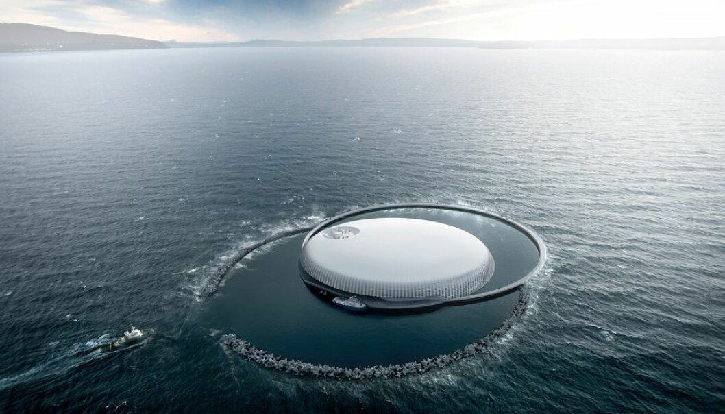 Slik var den opprinnelige visjonen for Ocean Space Center. - Den burde fremdeles være aktuell, ifølge den tidligere Marintekdirektøren.