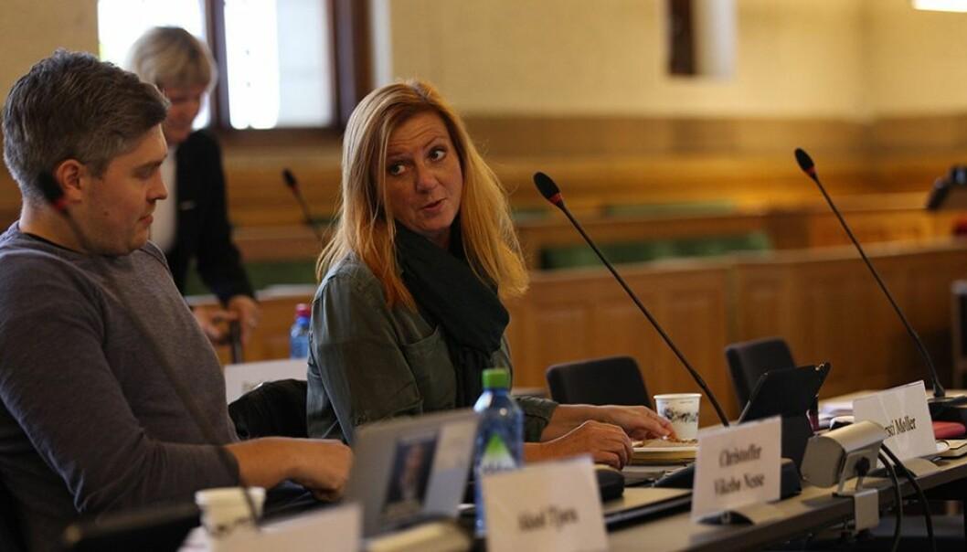 Styremedlem Kjersti Møller var en av flere ansattrepresentanter på styremøtet som kritiserte bruk av eksterne konsulenter.