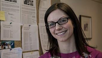 Førstebibliotekar Inger H. Schmidt-Melbye er med og organiserer Skrivepress.