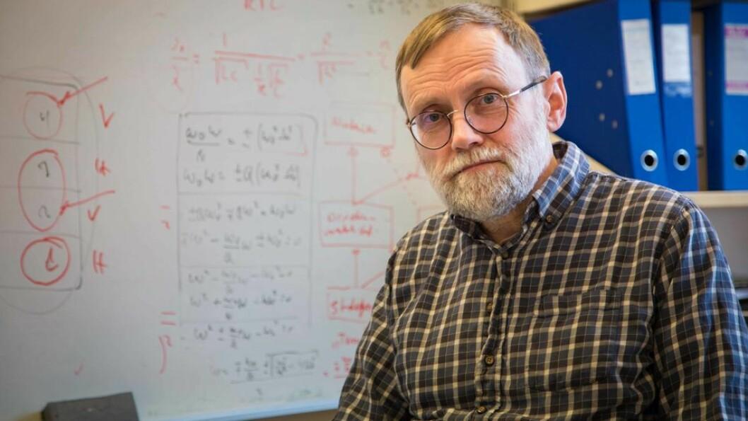 Merittert underviser: Lars Lundheim. Han har en tydelig og dokumentert utvikling fra tradisjonell forelesning til omvendt undervisning og prosjektbasert læring, heter det i begrunnelsen.