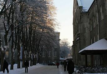 Smittet student gikk rundt på campus