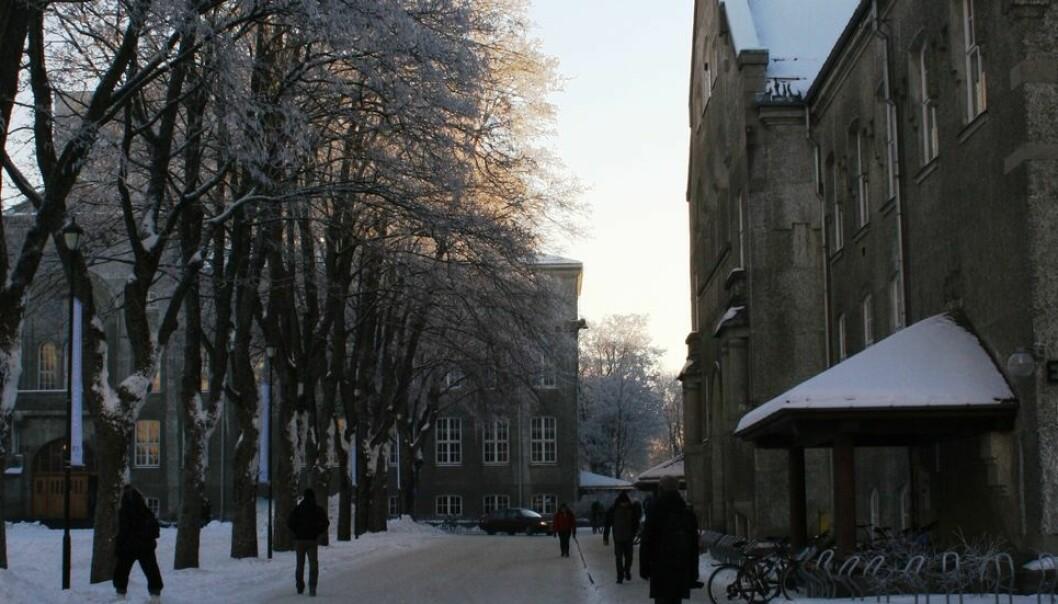 En student med påvist smitte bevegde seg rundt på campus Gløshaugen tirsdag og onsdag i forrige uke.