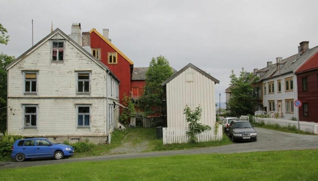 Samling av campus skal fremme tverrfaglighet. Det vil gjøre Trondheim til en annen by, skriver Arne B. Johansen. Her ser vi Grensen, et område hvor NTNU ønsker å bygge.