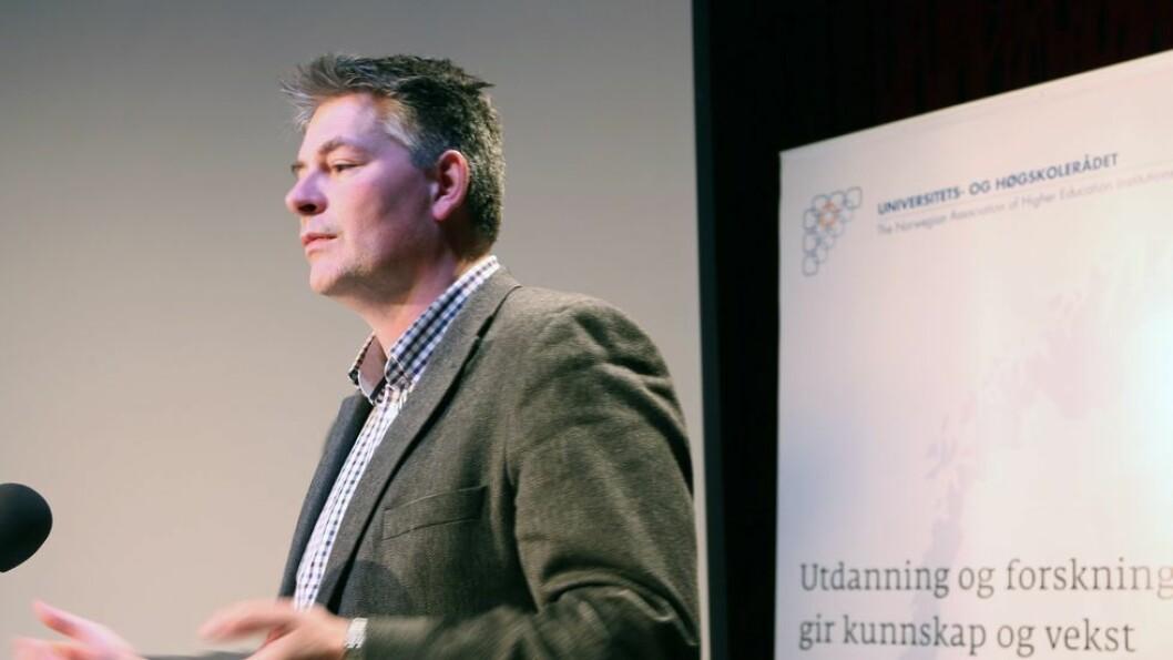 Økt kvantitet, ikke kvalitet: Statsekretær Bjørn Haugstad tar konklusjonene med sinnsro.