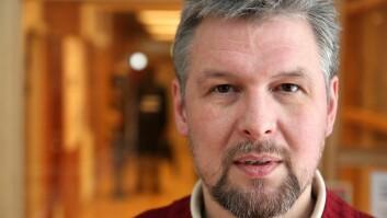 Vil fortsette: Instituttleder Jacques Koreman.