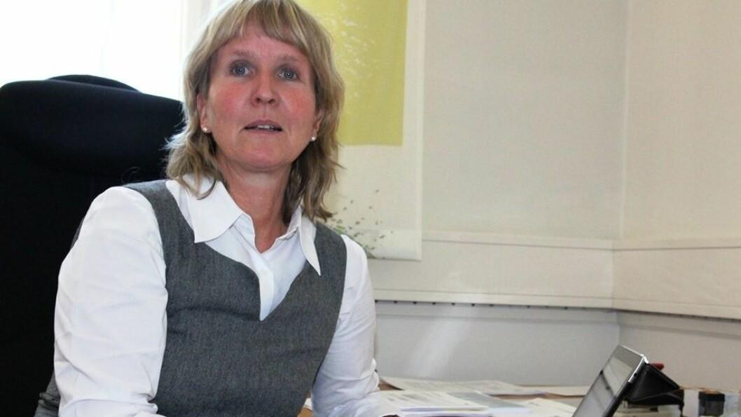Organisasjonsdirektør Ida Munkeby.