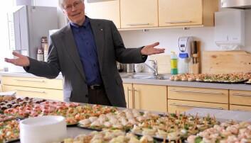 Sverre Smalø ønsker en ny periode som instituttleder ved Institutt for matematiske fag.