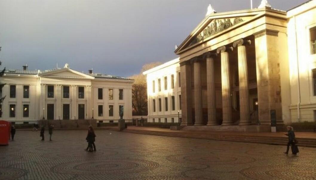 Universitetet i Oslo, Oslo Met og Norges miljø- og biovitenskapelige universitet i Ås er store universitet som må stenge lokalene. Arkivfoto: Martin Toft/Uniforum