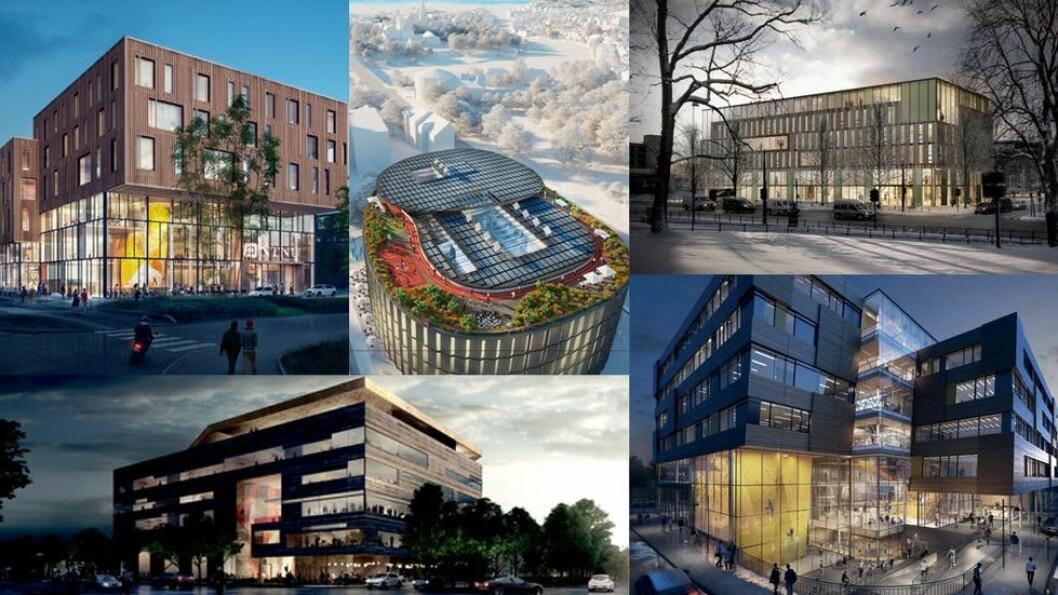 Fem forslag har kommet inn til nytt bygg i Elgeseter gate 10, men bevilgningene fra Kunnskapsdepartementet lar vente på seg. Heller ikke i år får NTNU midler til å realisere bygget.