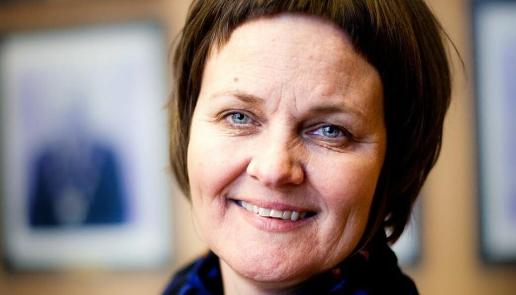 Anne Kristine Børresen sier at arbeidslivsrelevans er noe de har jobbet mye med ved Det humanistiske fakultet.