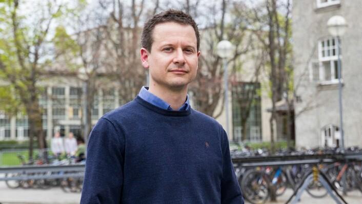 Merittert underviser: Frank Kraemer.