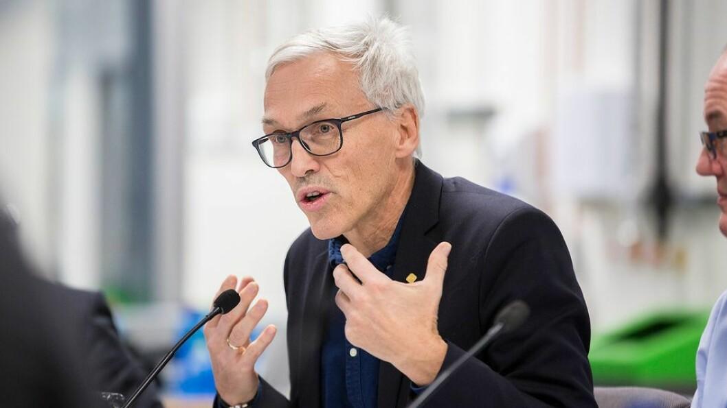 Prorektor for forskning ved NTNU, Bjarne Foss, sier alle medforfattere ved NTNU skal ha kommet med et signifikant bidrag.