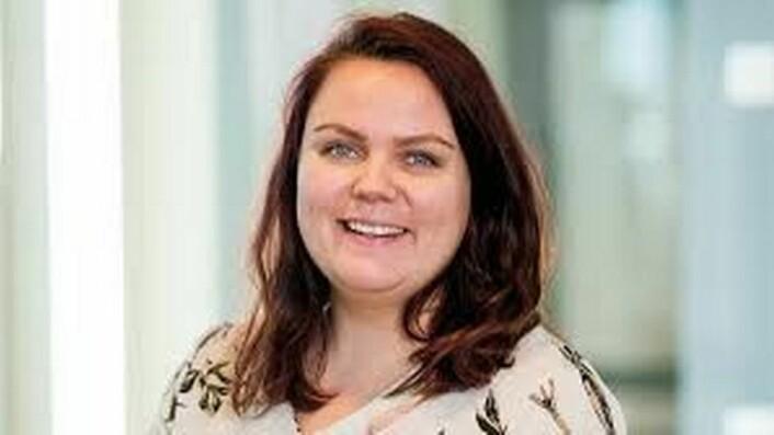 Stine Margrethe Knutsdatter Olsen er vararepresentant for Bård Hoksrud i Stortinget.