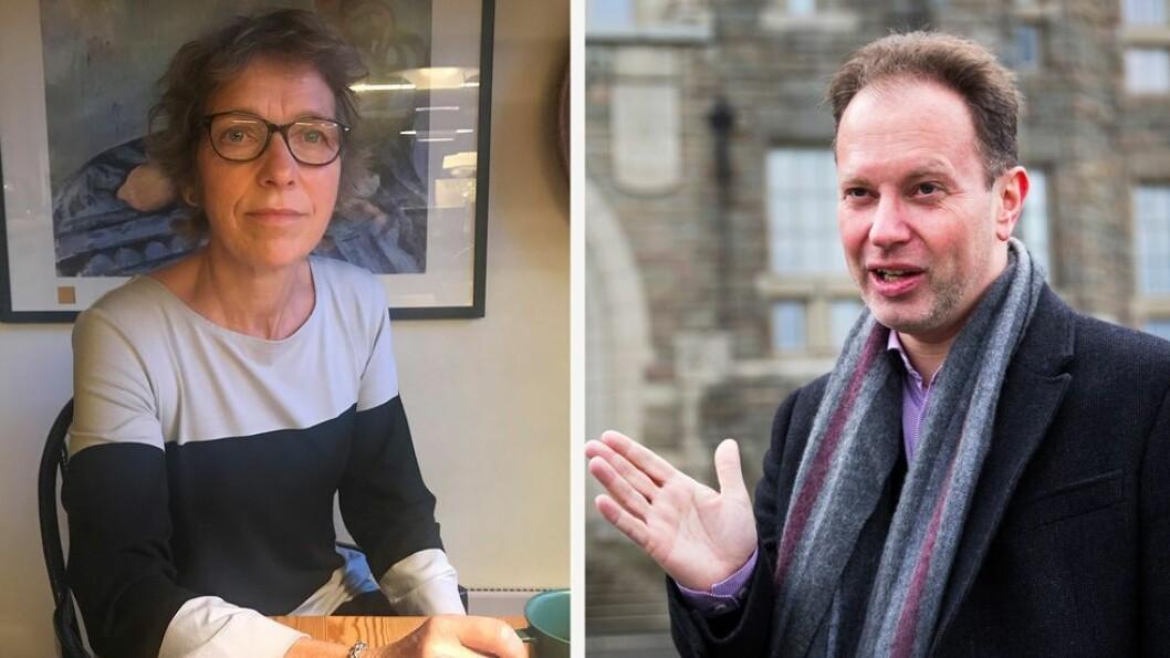 Berit Berg skrev brev til instituttleder og ba om at det ble reagert mot kollega Øyvind Eikrem.