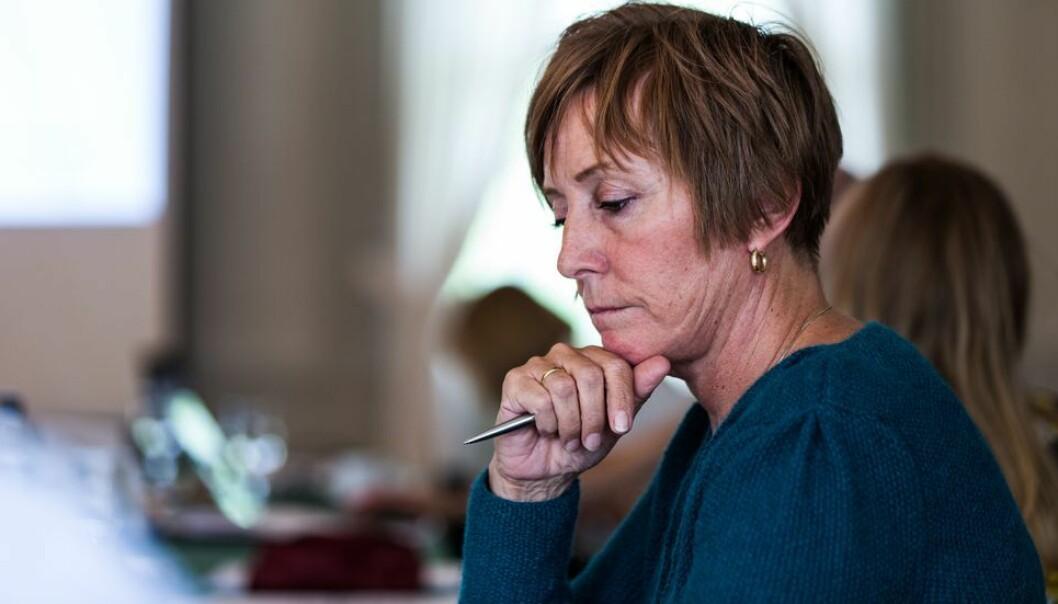 Kristin Melum Eide mente Merete Kvidal bagatelliserte kritikken hun kom med (arkivbilde).