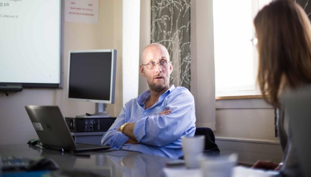 Jens Petter Nygård er prosjektleder for implementeringen av nytt økonomi- og lønnssystem ved NTNU.