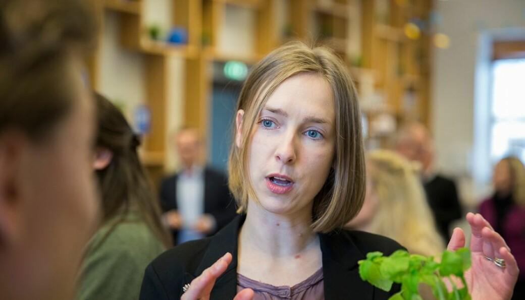 Næringsminister Iselin Nybø har tro på økt kvalitet i forksning.