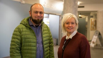 Arvid E. Skjervik og Terese Brekke er prosjektledere for henholdsvis Sit og NTNU.