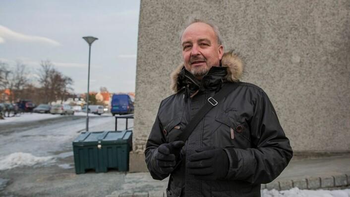 Tenkte alternativt: Eirik Granaas ved NTNUs opplæringskontor er svært fornøyd med at de grepene skole, NAV og NTNU tok, bidro til at Benjamin fikk utdanne seg til industrimekaniker.