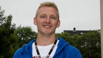 Gjermund Kvernmo Langset er studentleder i Studentparlamentet i Ålesund.