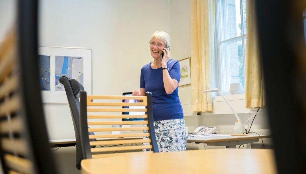 NTNU-rektor Anne Borg trakk seg som lederkandidat i Universitets- og høgskolerådet.