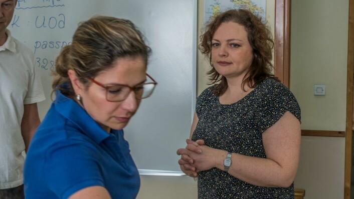 Marina Malgina Nokut koordinator flyktninger kvalifikasjonspass